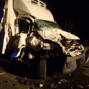 Zderzenie trzech aut w Kowanówku