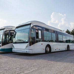 Belgijskie autobusy dotarły do Obornik