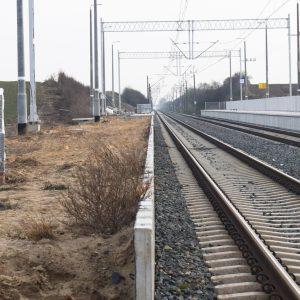 Brak części peronu, ścieżki oraz wiat z prawdziwego zdarzenia