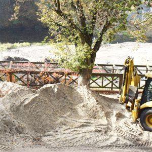 Trwa budowa plaży
