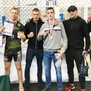 Obornickie medale MMA