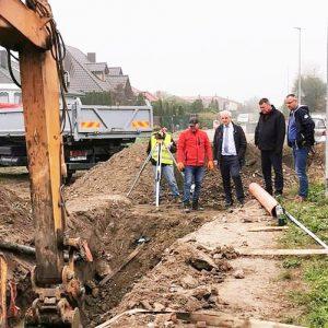 Budowa kanalizacji kwartał przed terminem