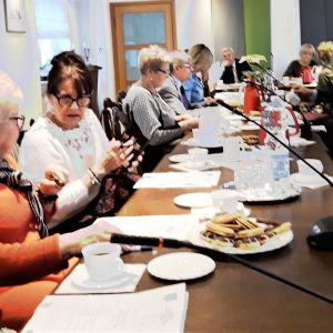Jubileuszowa sesja rady seniorów