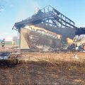 W Nowołoskońcu spłonął dom