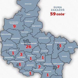 Środa 20.30 –  nie ma zakażenia na Ziemi Obornickiej. Dwa kolejne przypadki z Wielkopolski, dzisiaj łącznie 15
