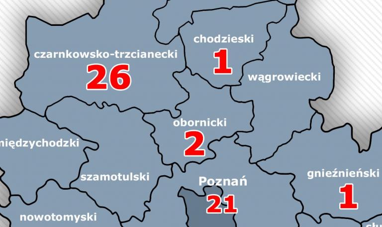 Piątek 22.30: nie ma nowych zakażeń na Ziemi Obornickiej. 2 kolejni chorzy zmarli wieczorem na Szwajcarskiej