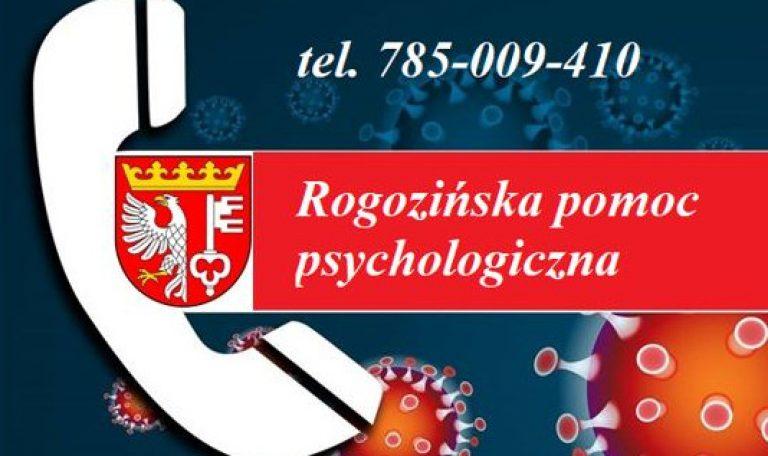 Rogozińska pomoc psychologiczna w czasie pandemii