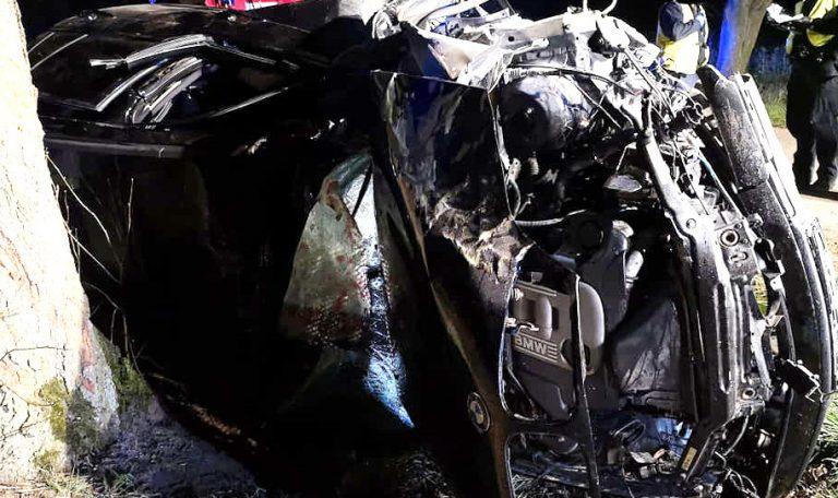 Dwie osoby ranne w wypadku pod Objezierzem