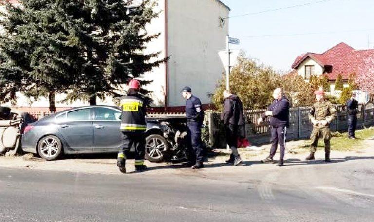 21-letni kierowca nie ustąpił pierwszeństwa w Popówku