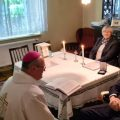 Msza z biskupem w domu Romana Gierki