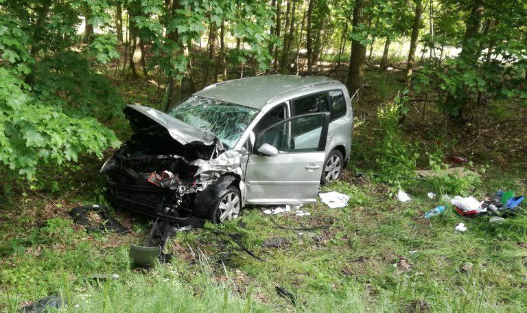 Kolejny wypadek między Lipą a Dąbrówką
