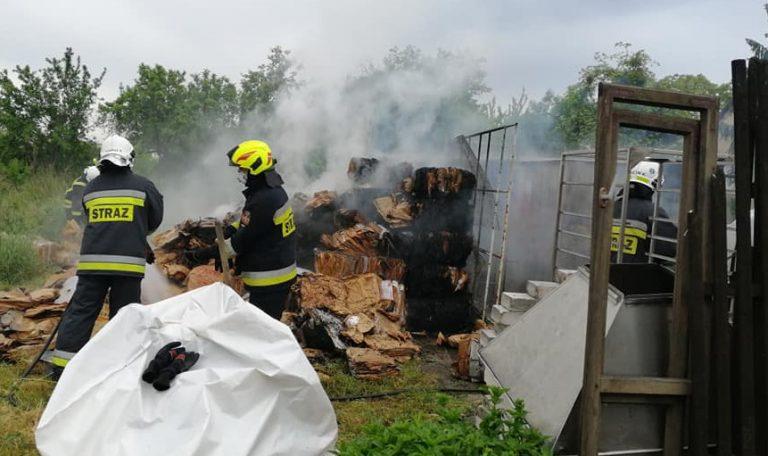 Rogozińscy strażacy podsumowali miniony rok