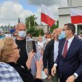 Premier Morawiecki w Obornikach. Ponad 3 miliony złotych dla Ziemi Obornickiej