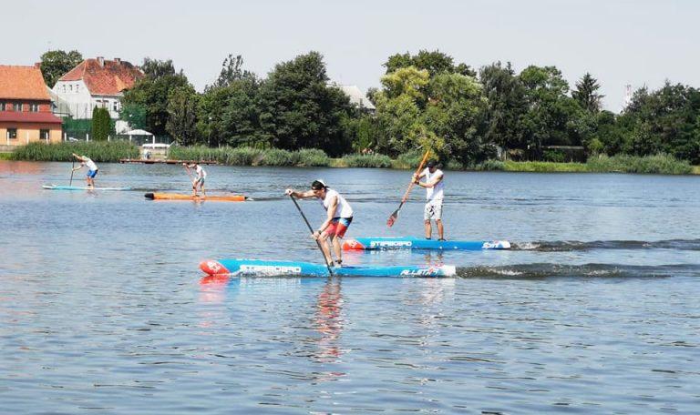 Historyczne zawody na jeziorze Rogoźno