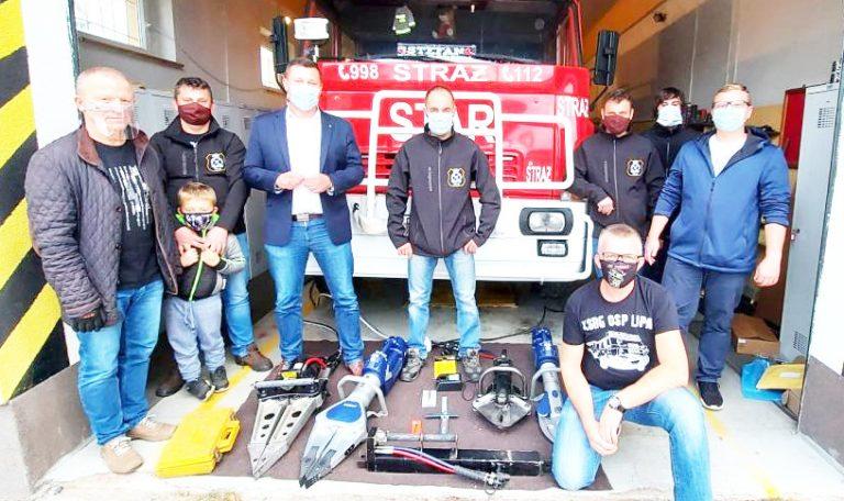 Lipscy strażacy z nowym sprzętem ratowniczym
