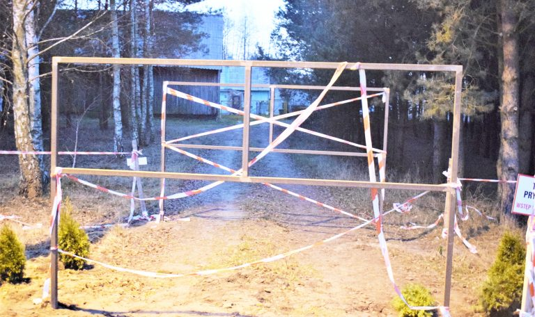 Jak sąsiad sąsiadowi… Spór w Kiszewie.