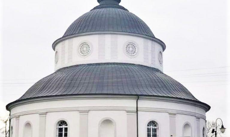 Nowa elewacja kościoła w Parkowie
