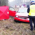 Policja poszukuje świadków śmiertelnego wypadku w Wełnie