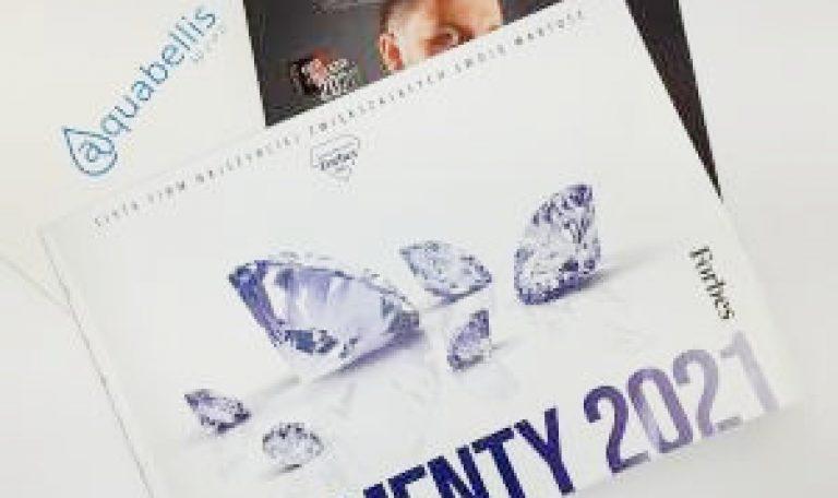 Diamenty Forbes 2021 dla rogozińskiego Aquabellis