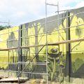 Mural gotowy i robi wrażenie