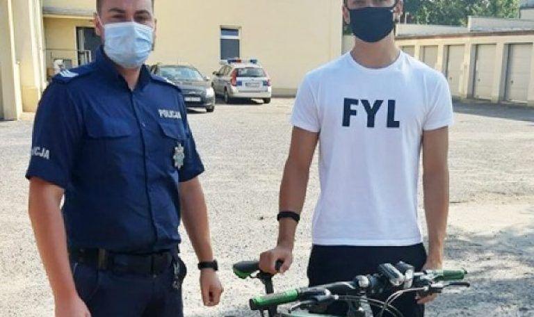 Złapali złodzieja i odzyskali rowery