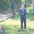 Otwarcie lapidarium na cmentarzu żydowskim w Ryczywole