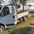 Zderzenie busa z ciężarówką